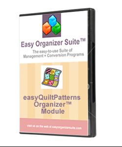 Picture of easyQuiltPatterns Organizer™ Module - Standard Edition