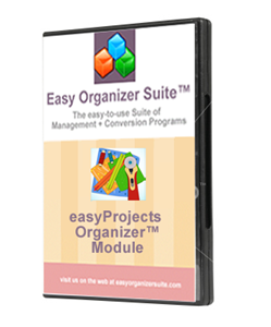 Picture of easyProjects Organizer™ Module - Standard Edition